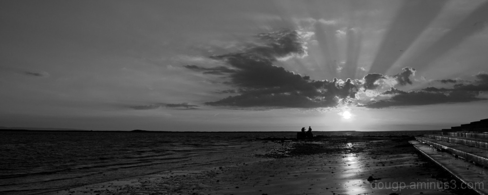 Monochrome sunset 3 of 3