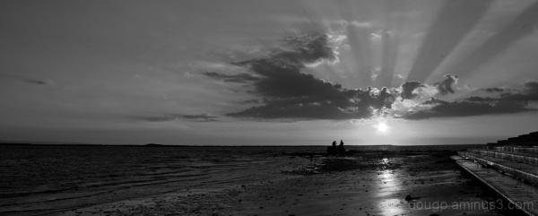Monochrome sunset 3 of 3