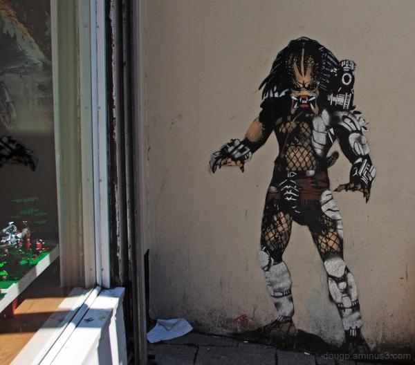 Predator in Weston-Super-Mare