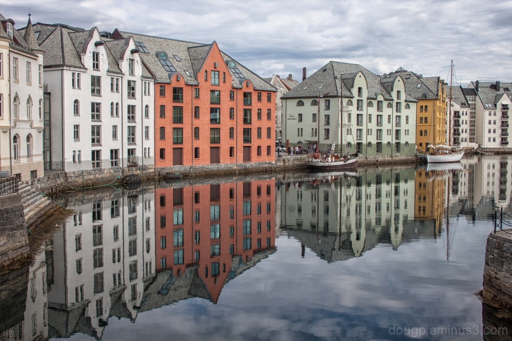 Reflecting on Alesund