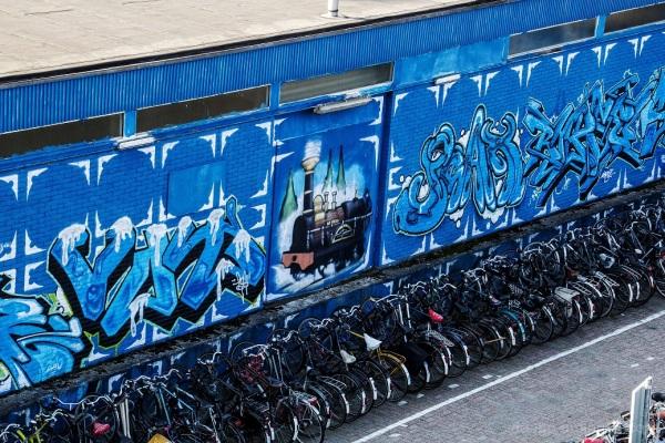 Delft street art 1 of 3