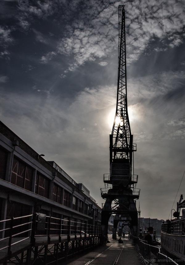 Dockyard crane