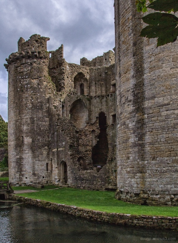 Nunney Castle, the missing wall