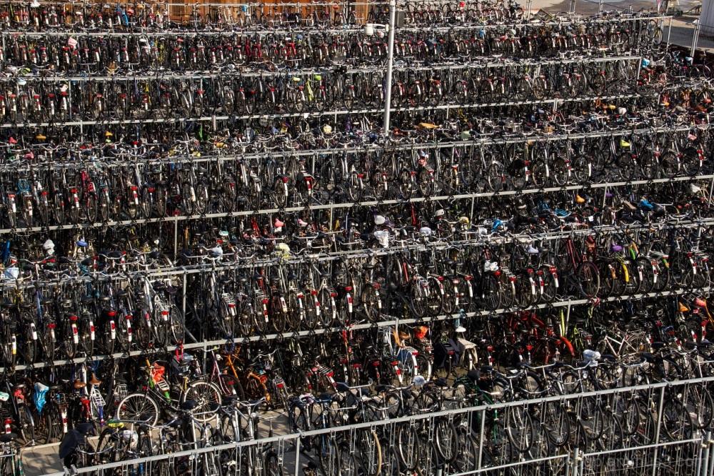 Now where did I put my bike ?