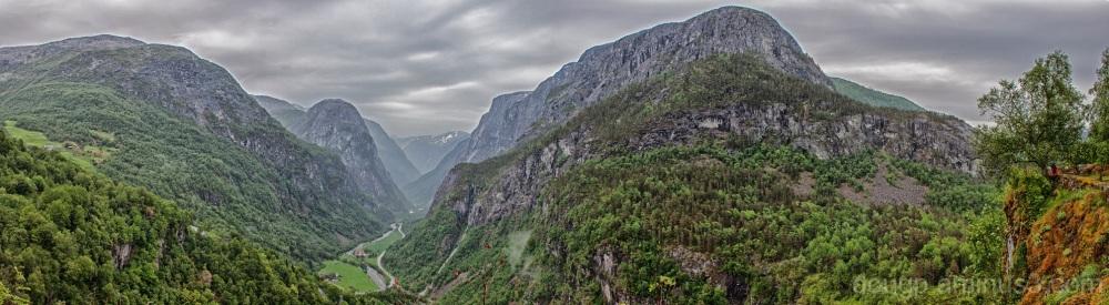 Nærøyfjord panorama 2