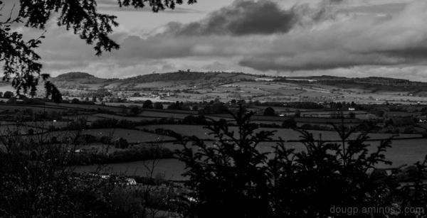 Symonds Yat in monochrome 2 of 2