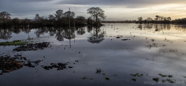 Floodwaters on the moor 3