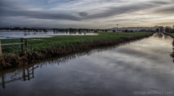 Somerset levels floods glastonbury
