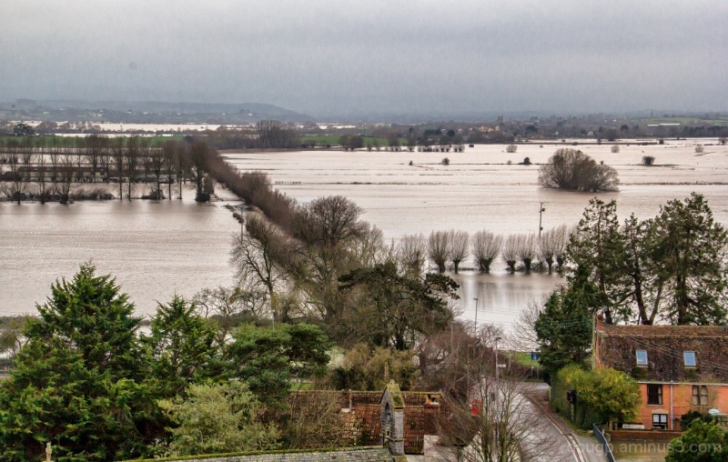Floodwaters on the moor 5