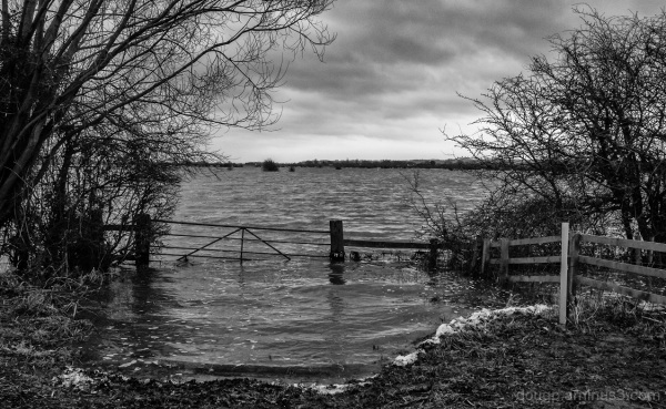 Somerset-levels Burrowbridge floods