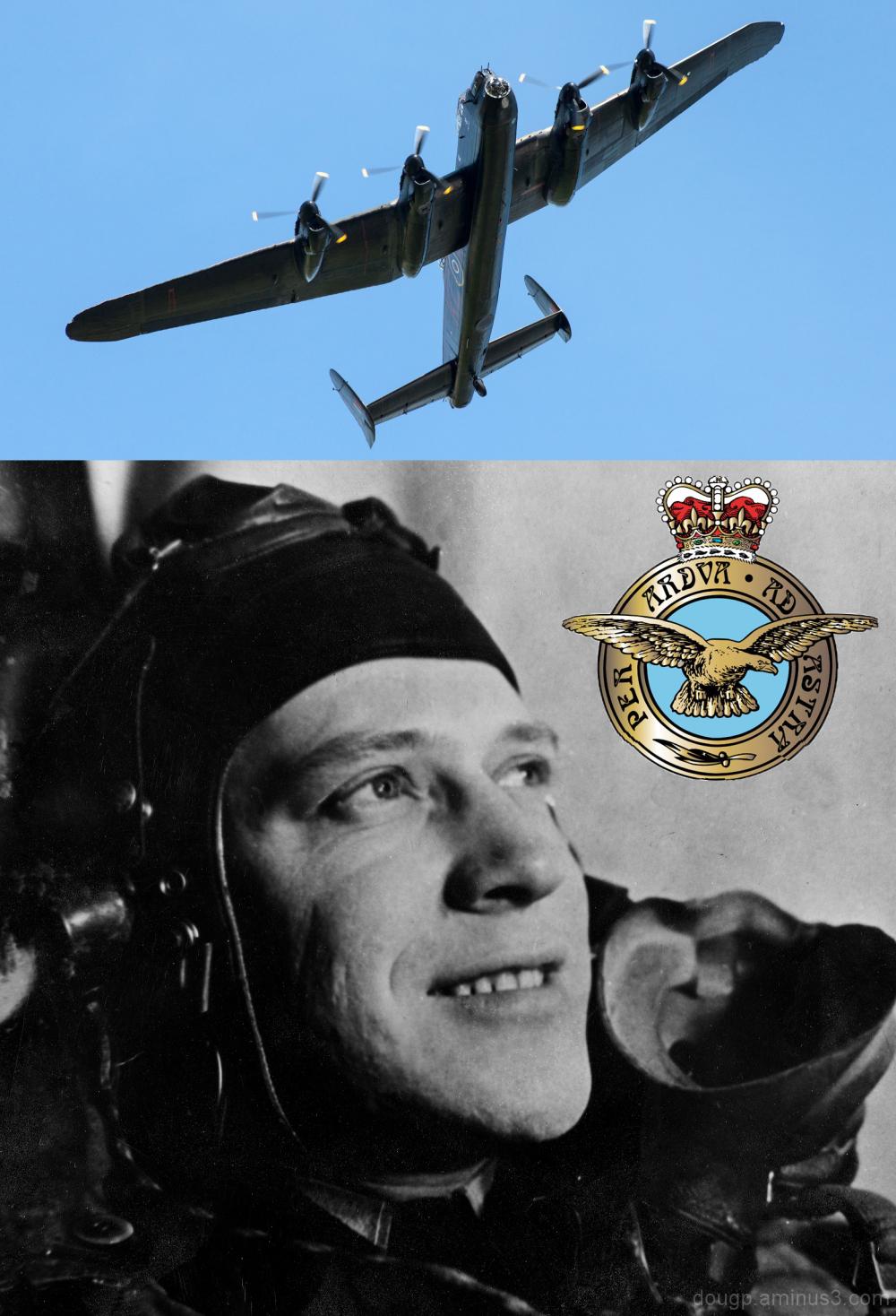 Dad RAF Lancaster
