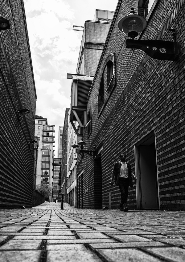 Down the alley (Birmingham return 1 of 9)