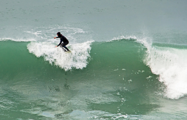 Cold surfing