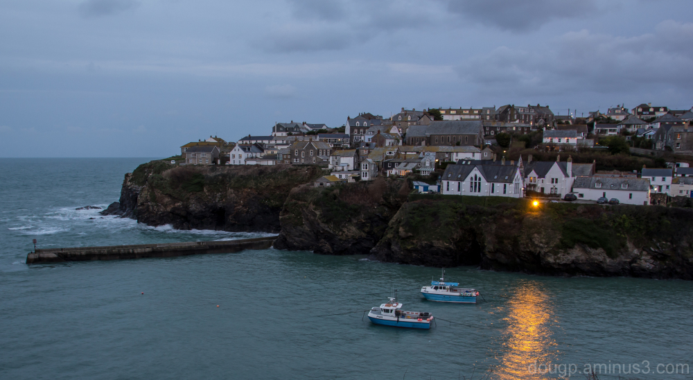 Evening in Port Isaac