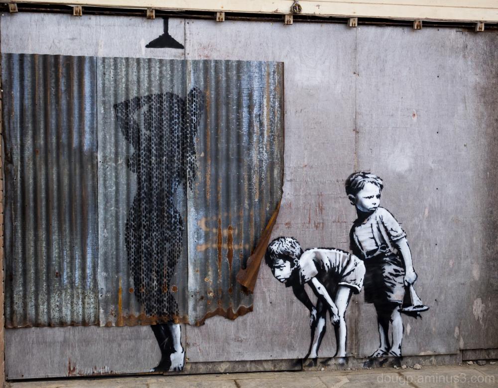 Banksy at Dismaland