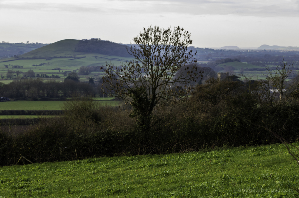A view from the mendips