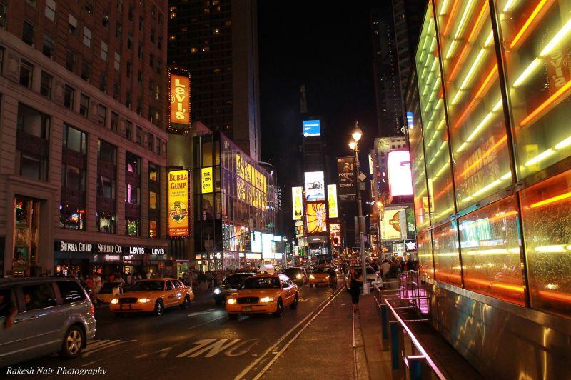 Glittering Times Square