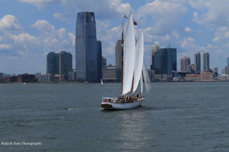New York shoreline