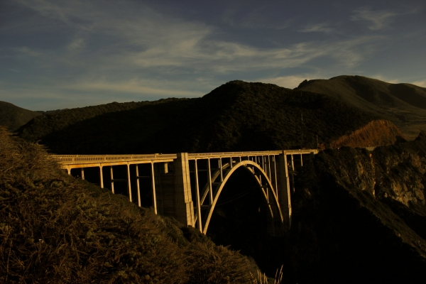 Connecting bridge in Pacific Highway