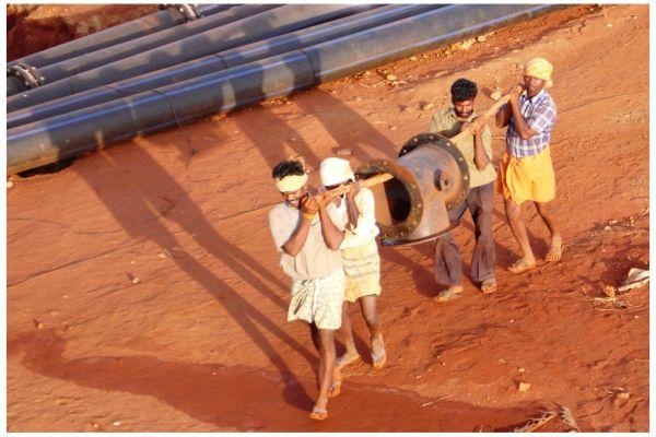 Indian Construction Labour