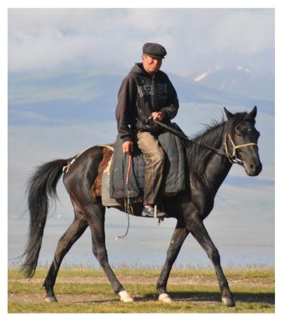 Song Kul Horseman