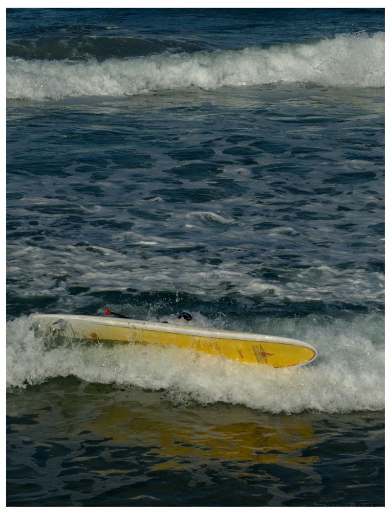 fallen surfer
