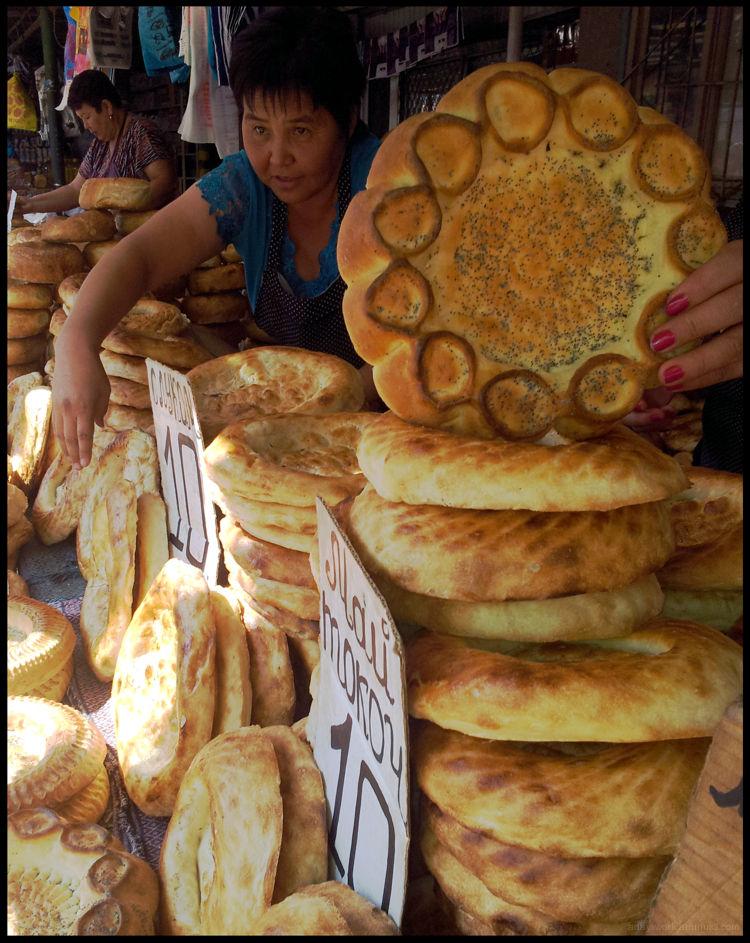 Osh Market Bishkek Bread