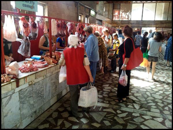 Osh Market Bishkek Meat