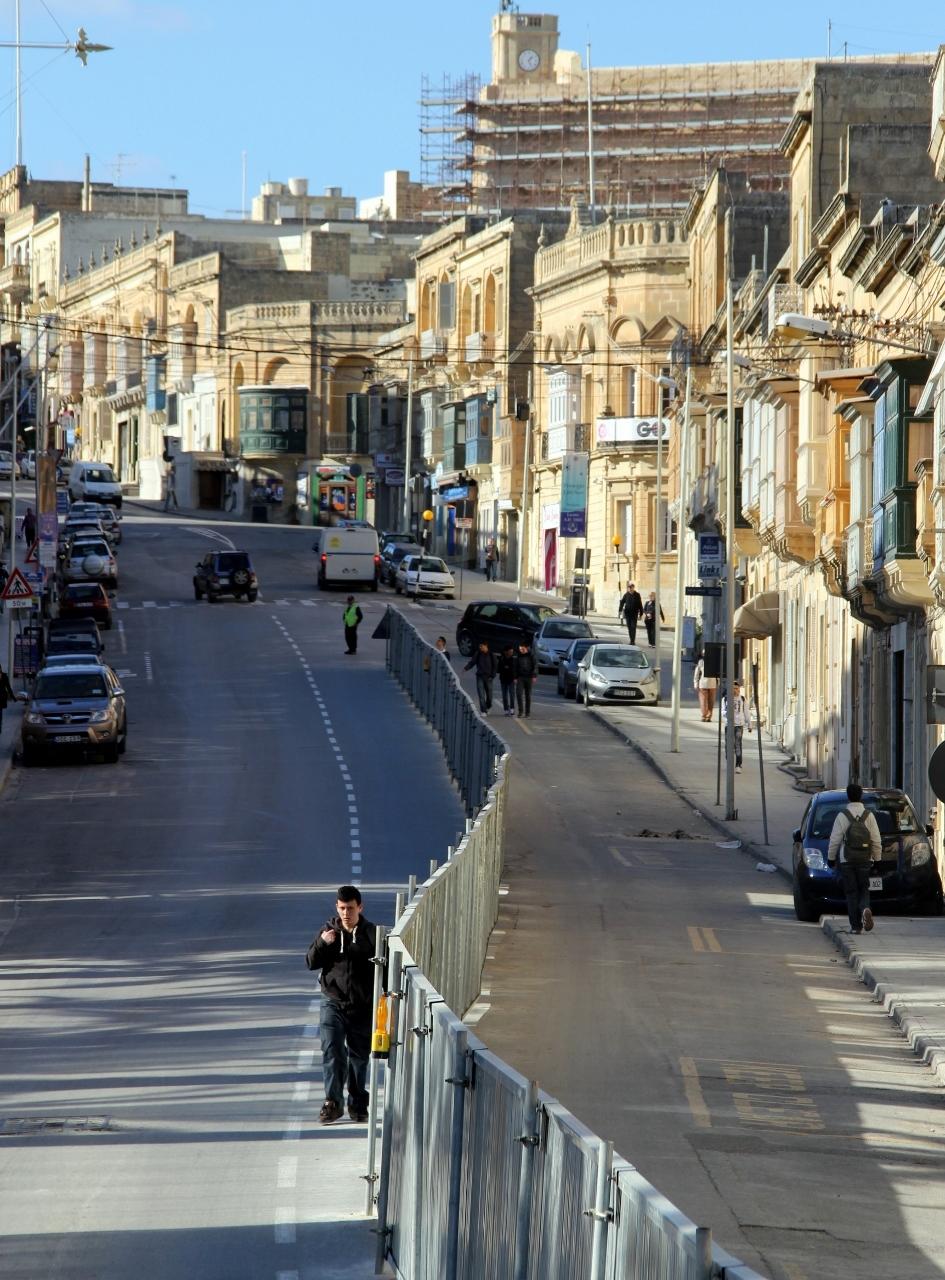 Street in Gozo, Malta