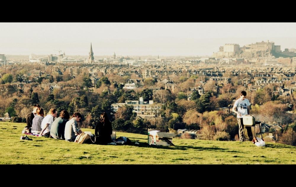 Spring in Edinburgh