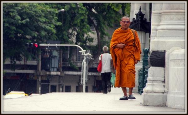 Monk, Bangkok