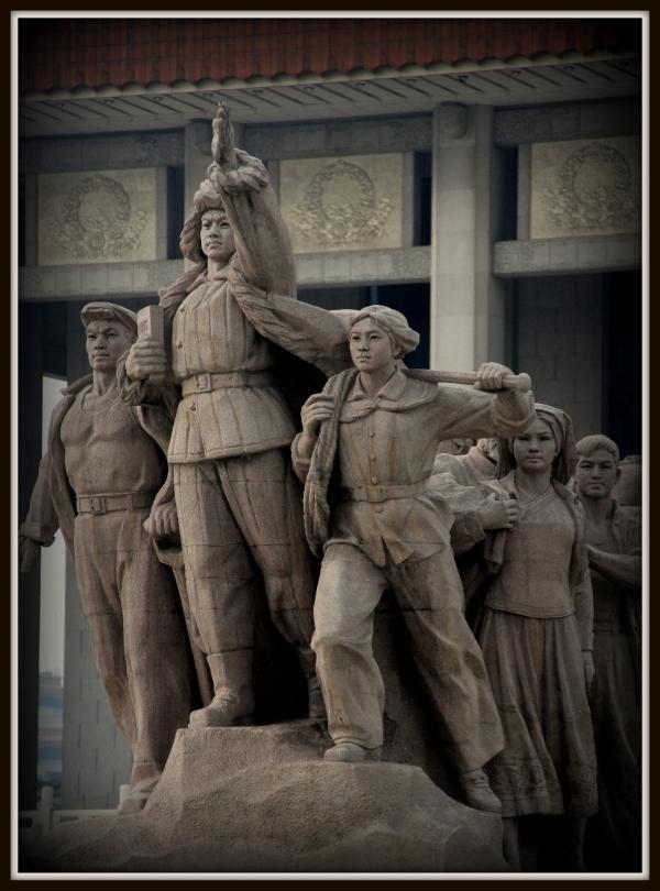 Tiananmen Square Statue, Beijing