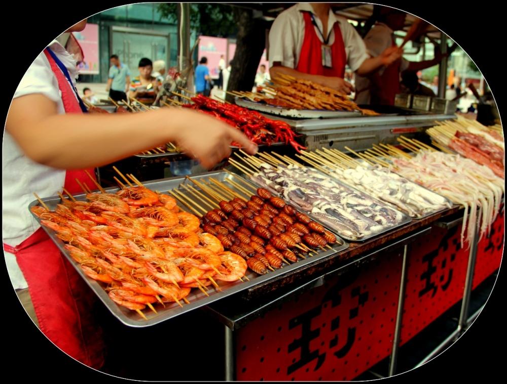 Wanfujing Food Market, Beijing