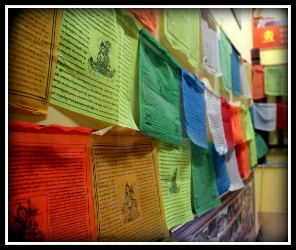 Tibetan Prayer Flags; Shop in Tianjin, China