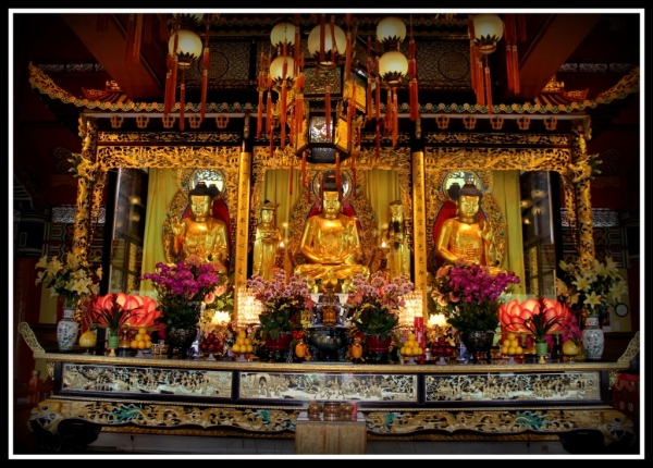 Big Buddha Alter, Lantau Island Hong Kong