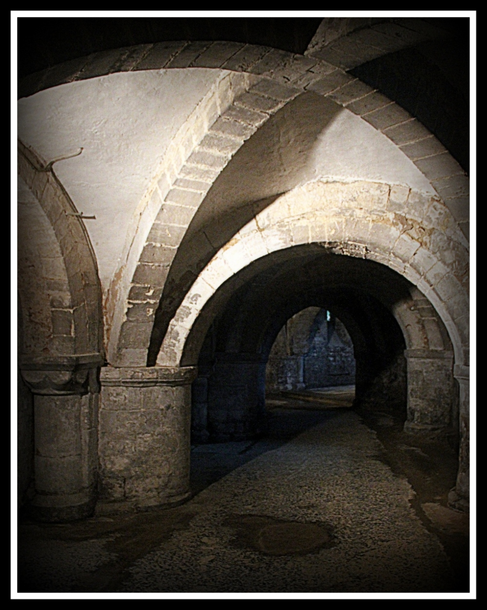 Gloucester Cathedral, crypts