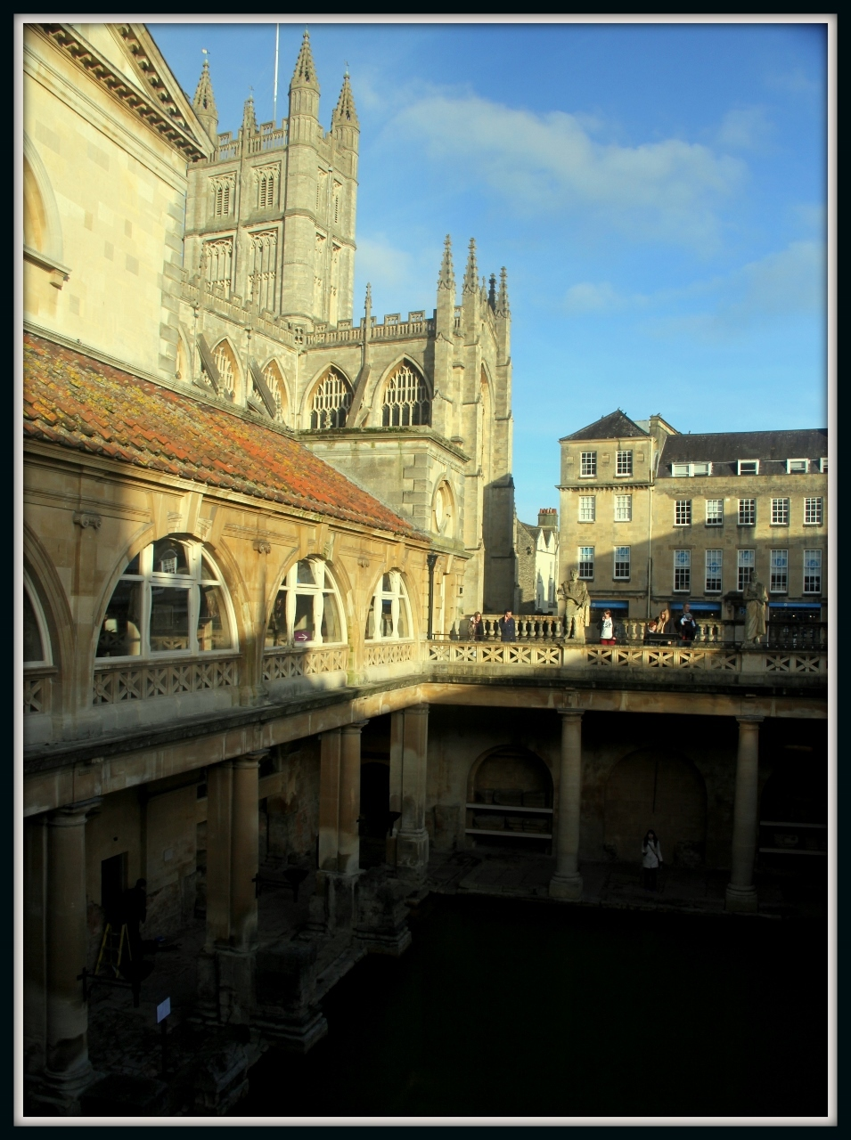 Roman Baths, Bath UK