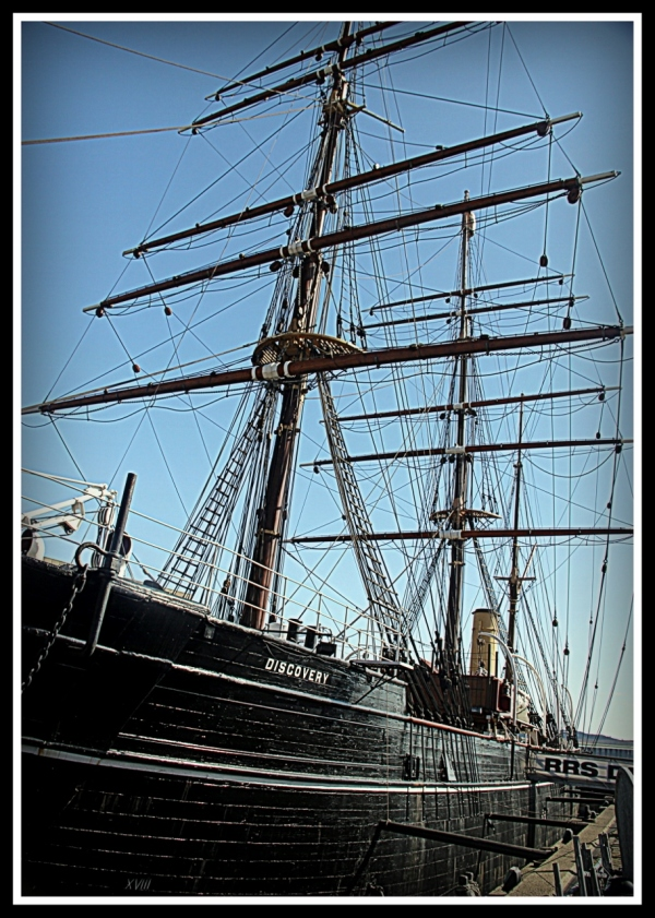 The Ship Discovery, Dundee Scotland