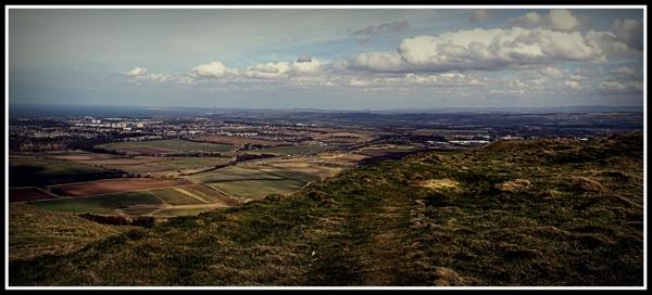 Hiking in the Pentland Hills Scotland