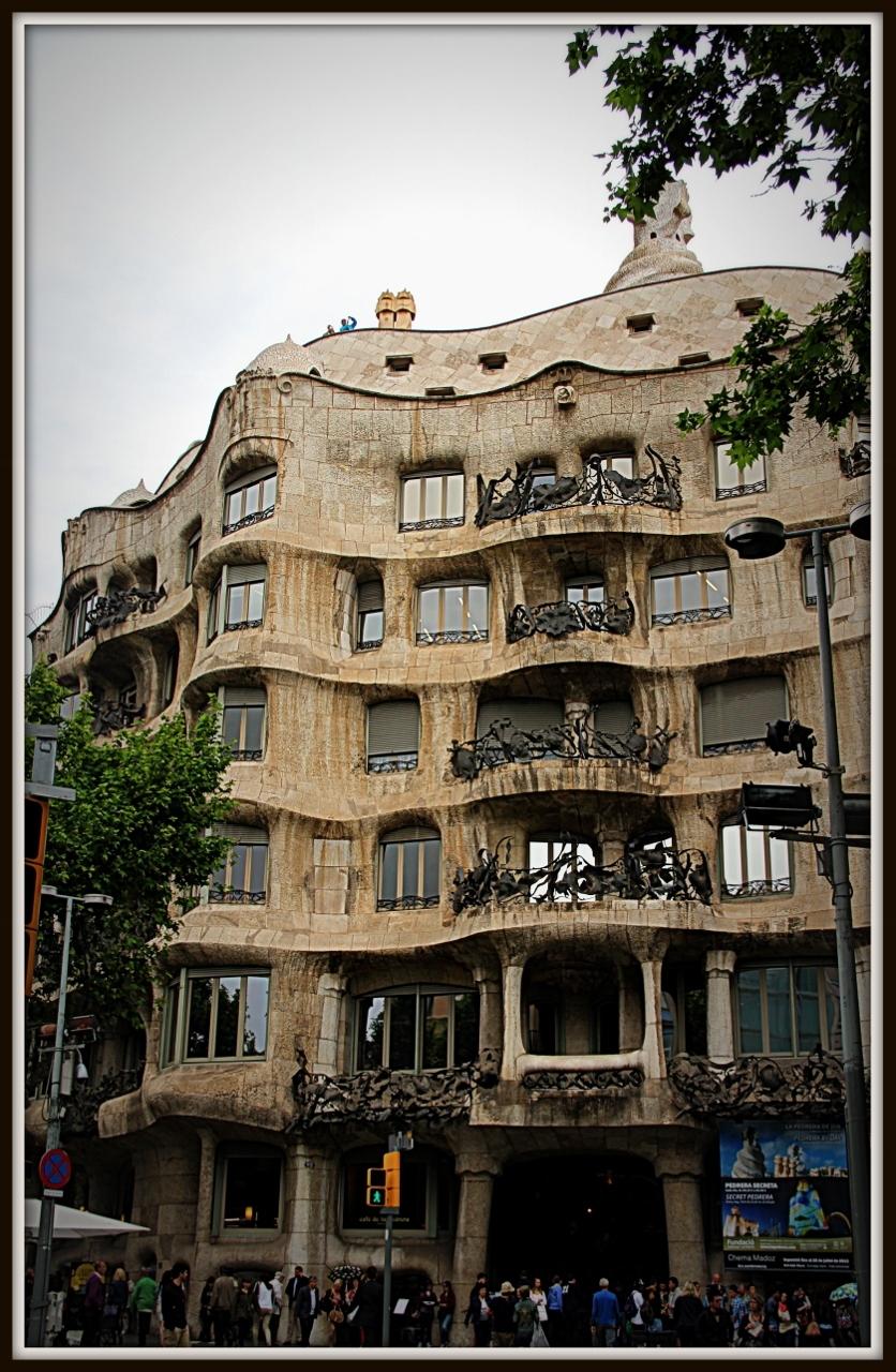 Casa Milà, Barcelona Spain