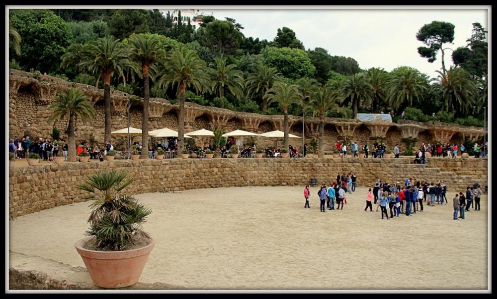 Park Güell Barcelona, Spain