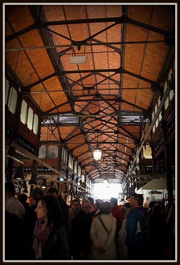 Market of San Miguel Madrid, Spain
