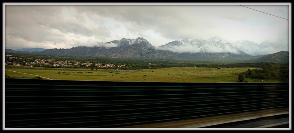 Madrid to Segovia, Spain Countryside