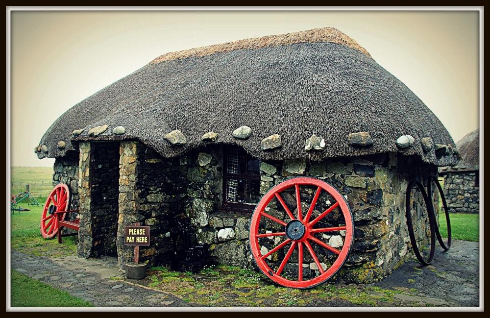 Traditional Scottish Cottage, Isle of Skye