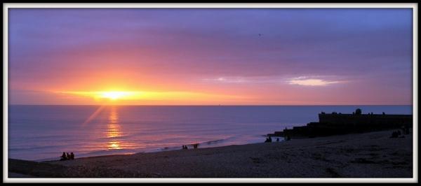 Brighton Sunset, UK