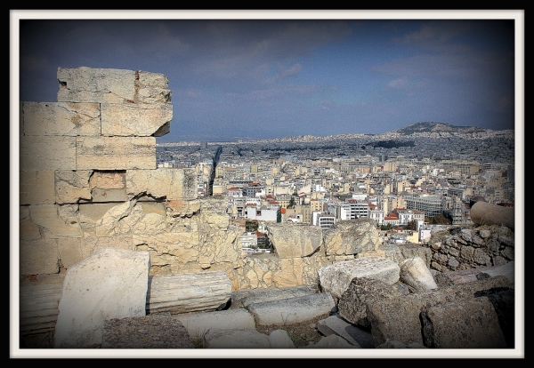 A View From The Acropolis Athens, Greece