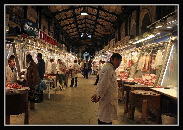 Athens Markets, Greece