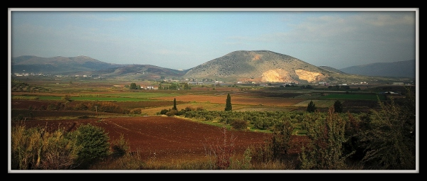 On the way to Delphi Greece