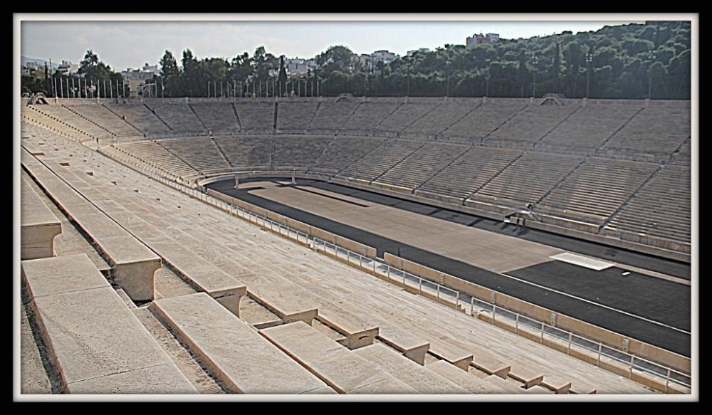 The Panathenaic Stadium Athens, Greece