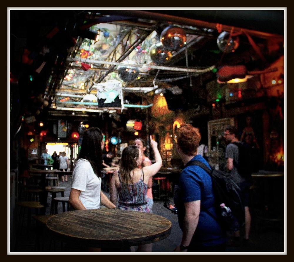 Ruin Bar, Budapest Hungary